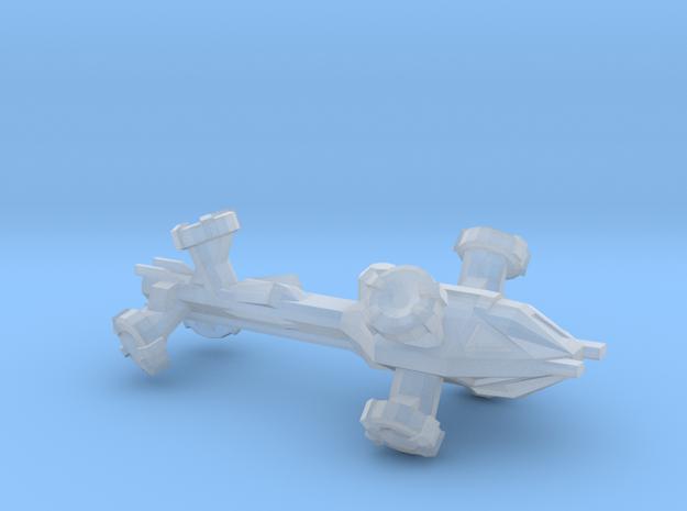 Digitorium Warp Bubble Frigate 3d printed