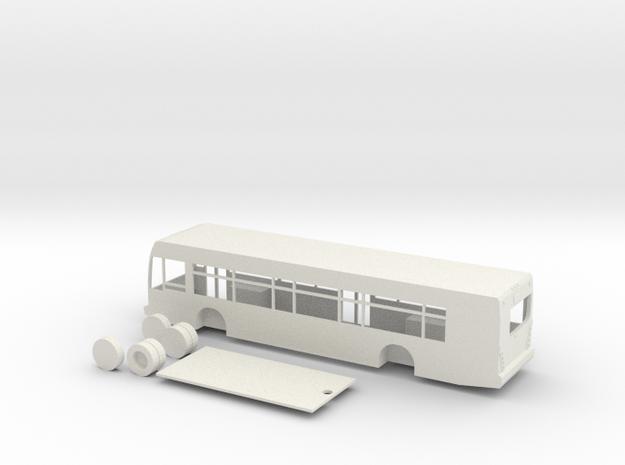 HO scale van hool a330 bus