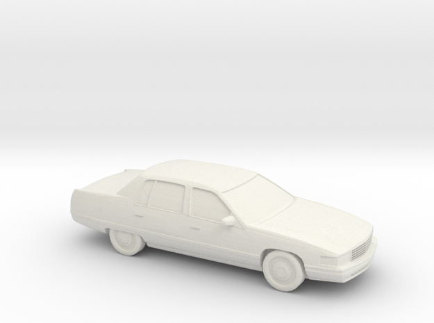 1/87 1994 Cadillac DeVille  in White Natural Versatile Plastic