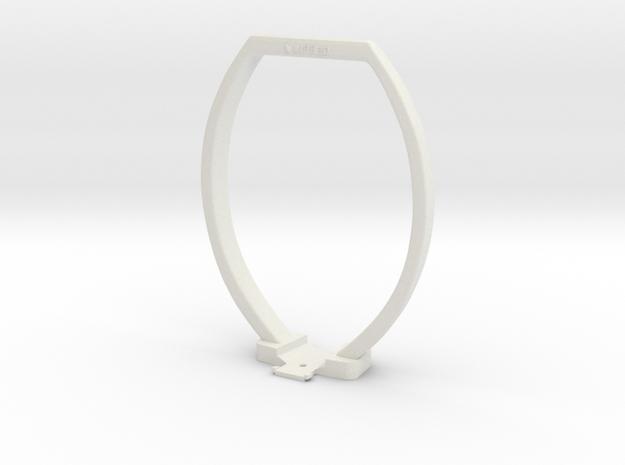 Artec EVA 3D Scanner Lantern Rig in White Strong & Flexible