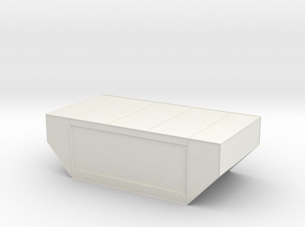 LD-29 Air Cargo Container 1:144 in White Natural Versatile Plastic
