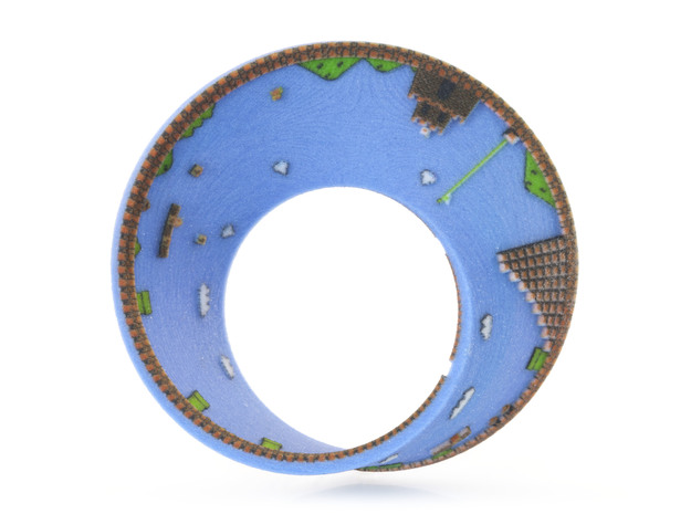 Super Mario Mobius Strip Small (2.8 inches)