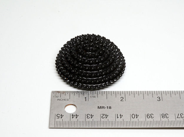 Ceramic Ferrofluid Sculpture - imaginary rock coll 3d printed