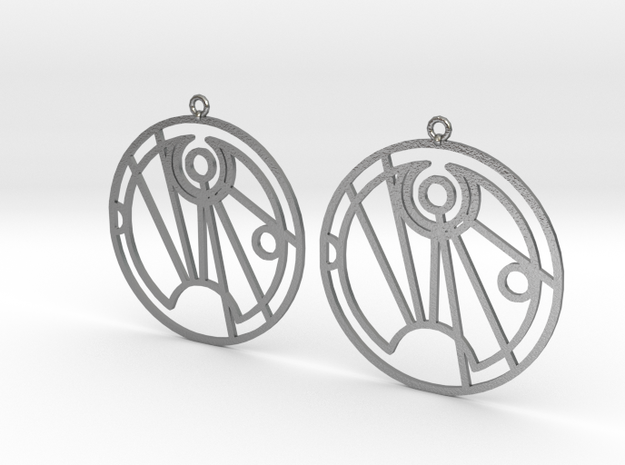 Soffia - Earrings - Series 1 in Natural Silver
