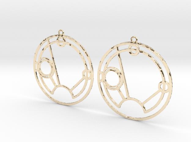 Sienna - Earrings - Series 1 in 14K Yellow Gold