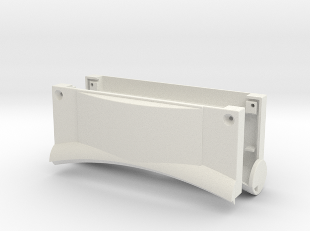 SkunkBox for SkunkBoard SillyVenture Vented in White Natural Versatile Plastic