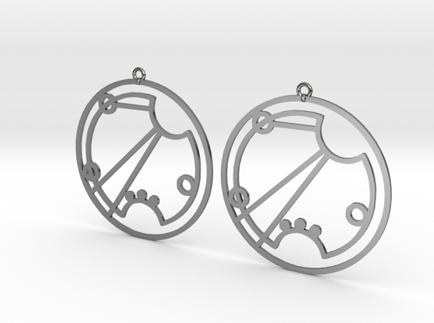 Rosie - Earrings - Series 1 in Premium Silver