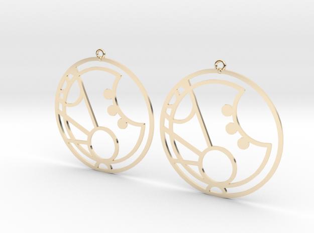 Martha - Earrings - Series 1 in 14K Gold