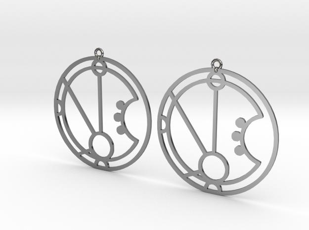 Maria - Earrings - Series 1 in Premium Silver