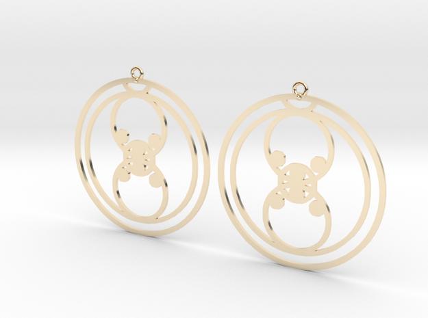 Lola - Earrings - Series 1 in 14K Gold