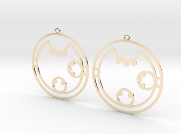 Clara / Klara - Earrings - Series 1 in 14K Yellow Gold
