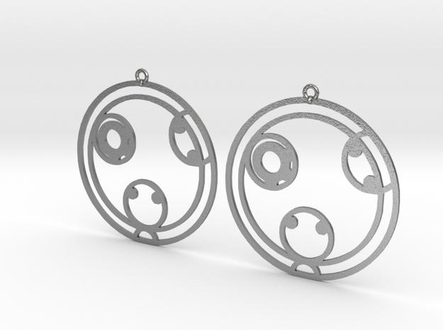 Kaylee - Earrings - Series 1 in Raw Silver