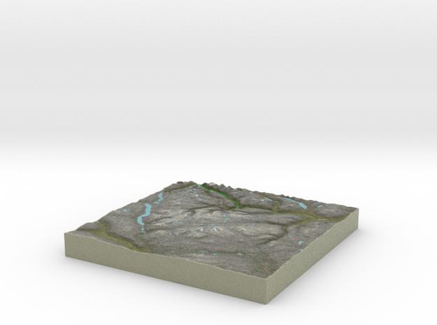 Terrafab generated model Tue Dec 30 2014 11:54:44  in Full Color Sandstone