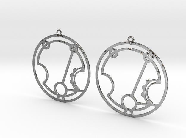 Harriet - Earrings - Series 1 in Premium Silver
