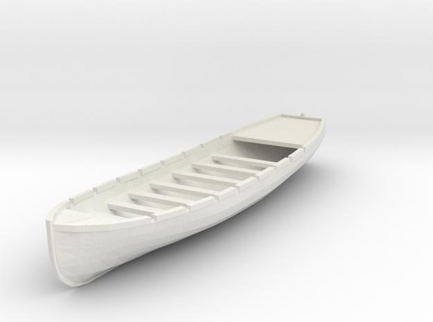 Osage/Neosho 28 ft Longboat. 1/4 Scale