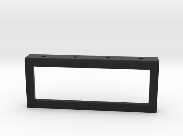 Six Position V-Series Switch Holder Version in Black Natural Versatile Plastic