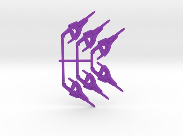 Plasma Precision Carbine Pack in Purple Processed Versatile Plastic