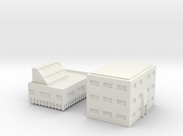 "Penthouse ""B""  Modular Series 1 in White Natural Versatile Plastic"