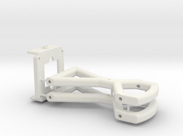 PZ0420 Nemesis_Tilt Mount Combo in White Natural Versatile Plastic