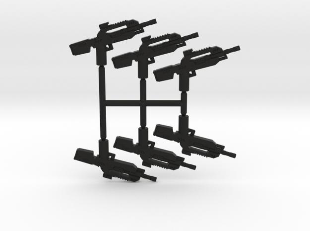 Burst Rifle Pack in Black Strong & Flexible