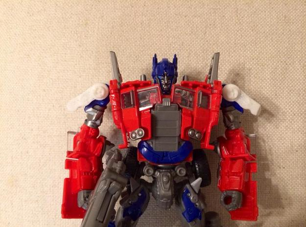 Shoulder Pads for Evasion Mode Optimus Prime in Frosted Ultra Detail