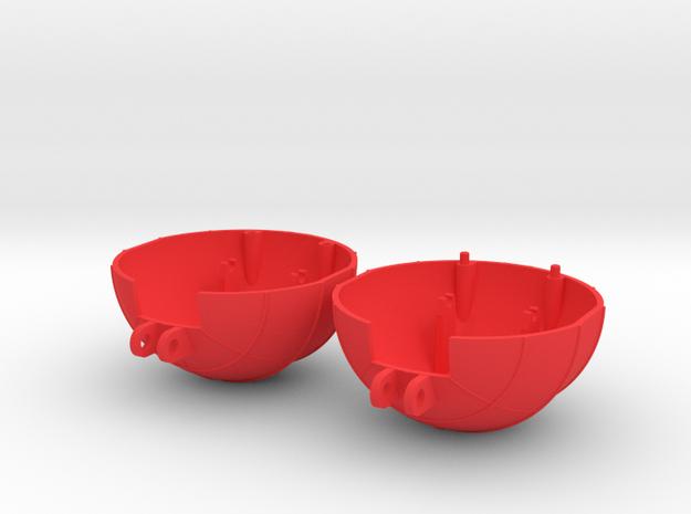 VENOM Thunderball both domes. (6 of 8) in Red Processed Versatile Plastic