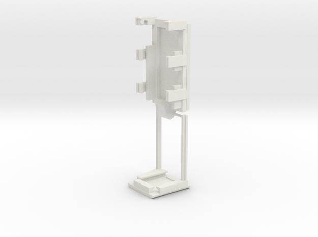 DNA40 Adjustable Combo Cradle in White Natural Versatile Plastic
