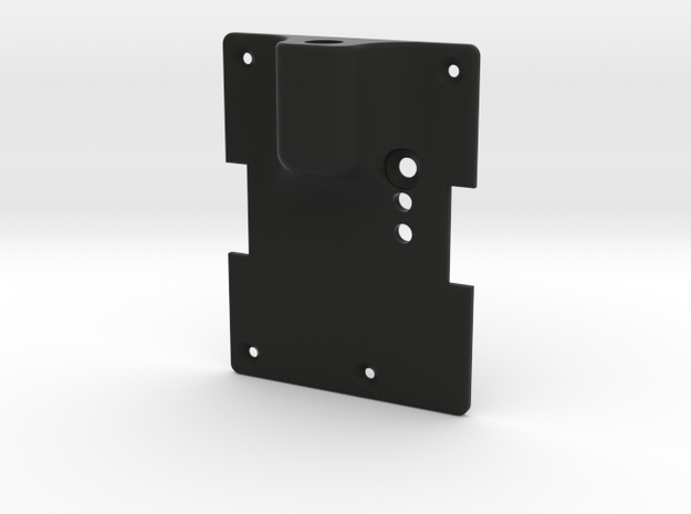 OrangeRX / OpenLRS Module Cover (JR style) in Black Natural Versatile Plastic