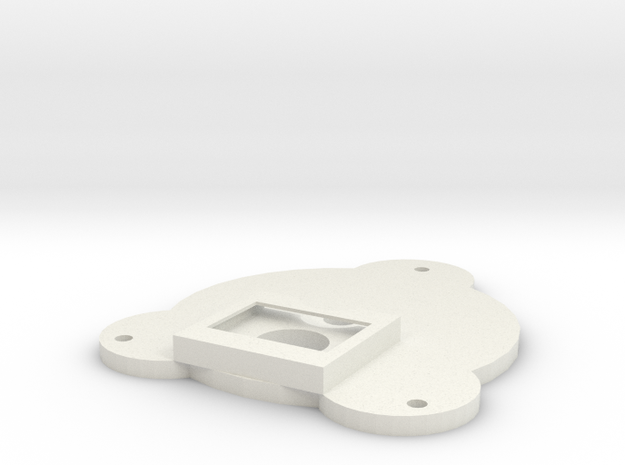 End With Electronic Housing Heat Sink (Metalic Pla in White Natural Versatile Plastic