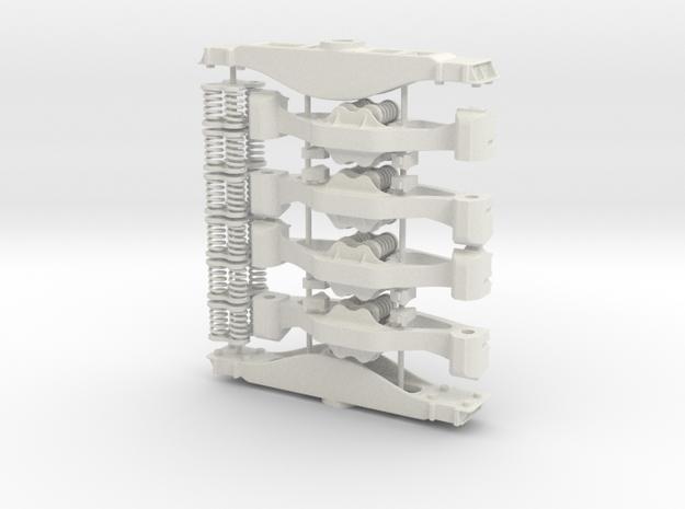 Standard AAR Bogie - sprung in White Strong & Flexible