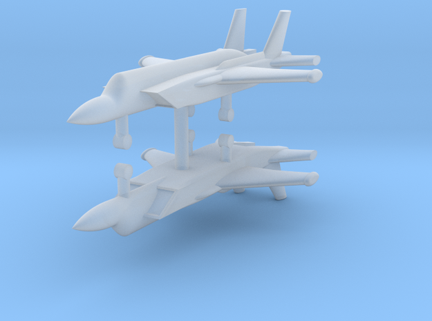 1/285 Yakovlev Yak-141 Freestyle (x2) in Smooth Fine Detail Plastic