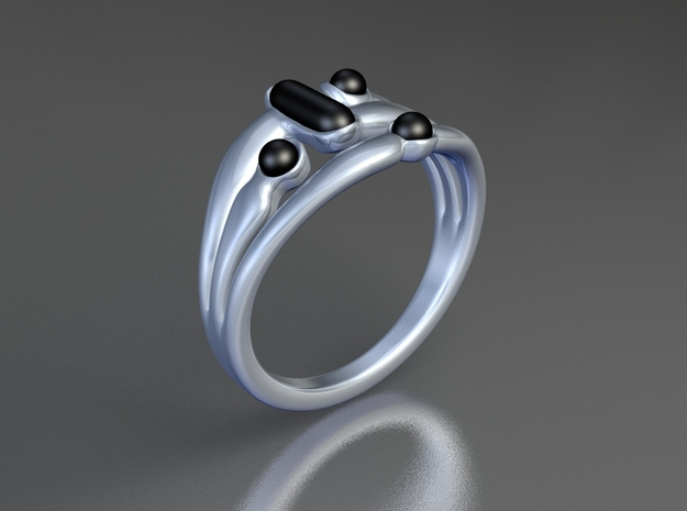 Marudai ring 3d printed
