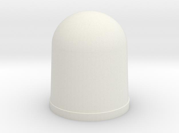 Apollo A7L Glove Tip - THUMB in White Natural Versatile Plastic