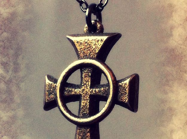 Boondock Saints - Celtic Cross pendant - 1""