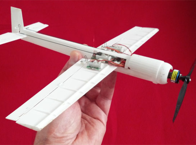Blaze Micro RC Hotliner Aerobatic 3D Plane in White Natural Versatile Plastic