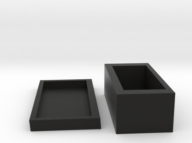 jewelery box in Black Natural Versatile Plastic