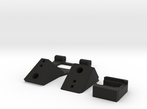 IRIS+ REAR DOOR Components in Black Natural Versatile Plastic