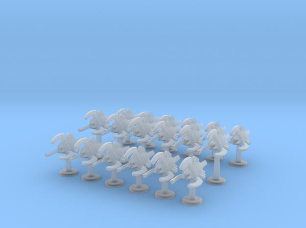 BFG Bug Assault Boats (x18) 3d printed