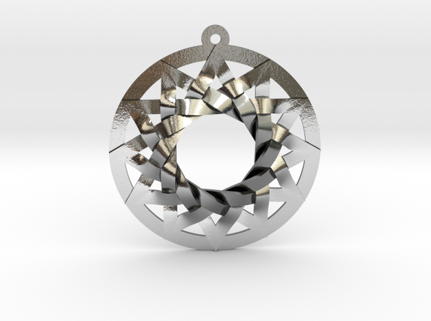 Star of Metatron 3d printed