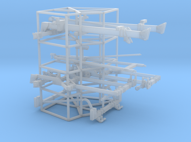 1/64 Dominator #1 Frames (5 degrees) in Smooth Fine Detail Plastic