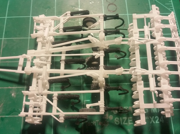 1/64 Dominator #1 Frames (10 degrees) in Smooth Fine Detail Plastic