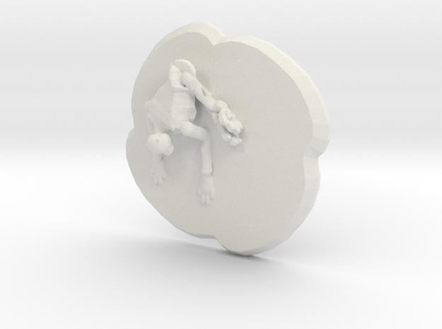 Kitta in White Natural Versatile Plastic