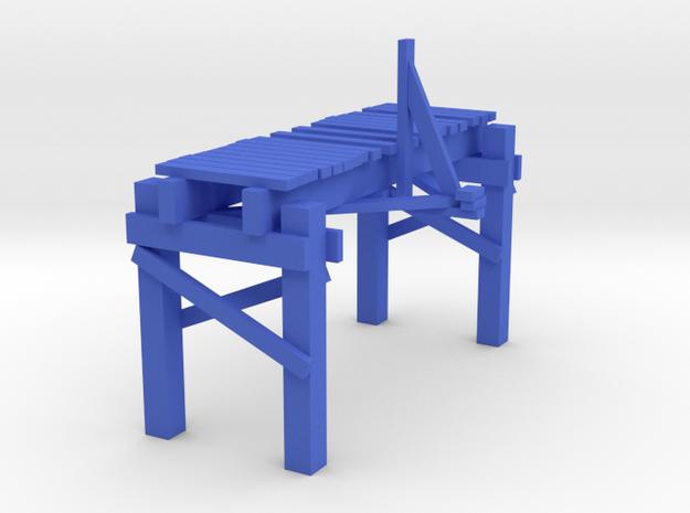 2 In Picturesque Wood Bridge 3d printed