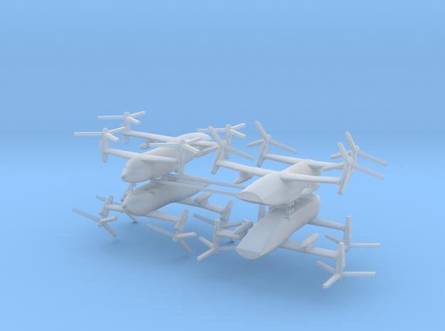 1/700 Bell Boeing Quad Tiltrotor Transport (x4)