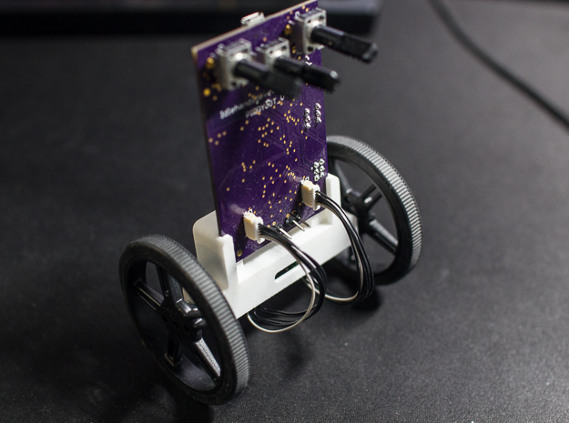 PIDDYBOT: An Open Source Self Balancing Robot!  in White Natural Versatile Plastic