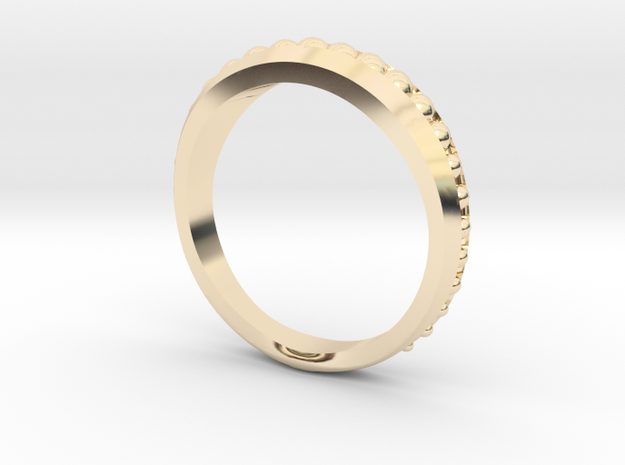Ring Size 5 in 14K Yellow Gold