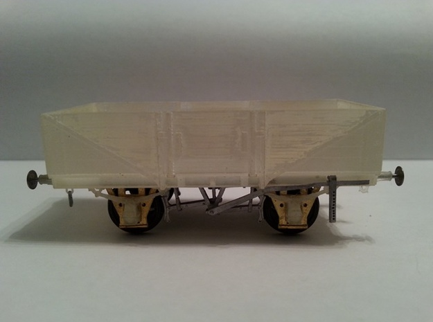 OO scale LMS  13 Ton high sided goods wagon 3d printed The printed body