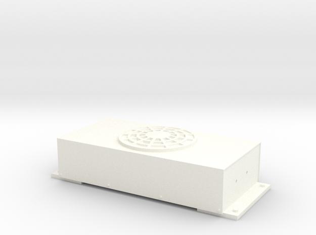 APU Condenser in White Processed Versatile Plastic