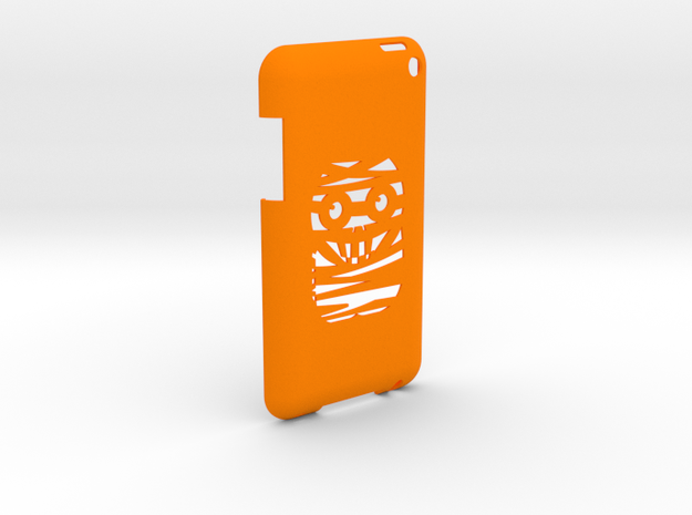 iPod Touch Cover in Orange Processed Versatile Plastic
