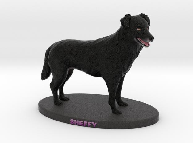 Custom Dog Figurine - Sheffy